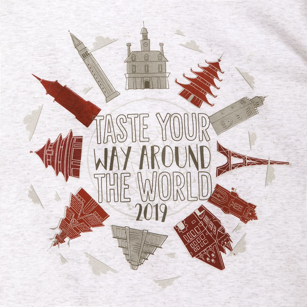 Epcot International Food & Wine Festival 2019 Hoodie T-Shirt for Adults