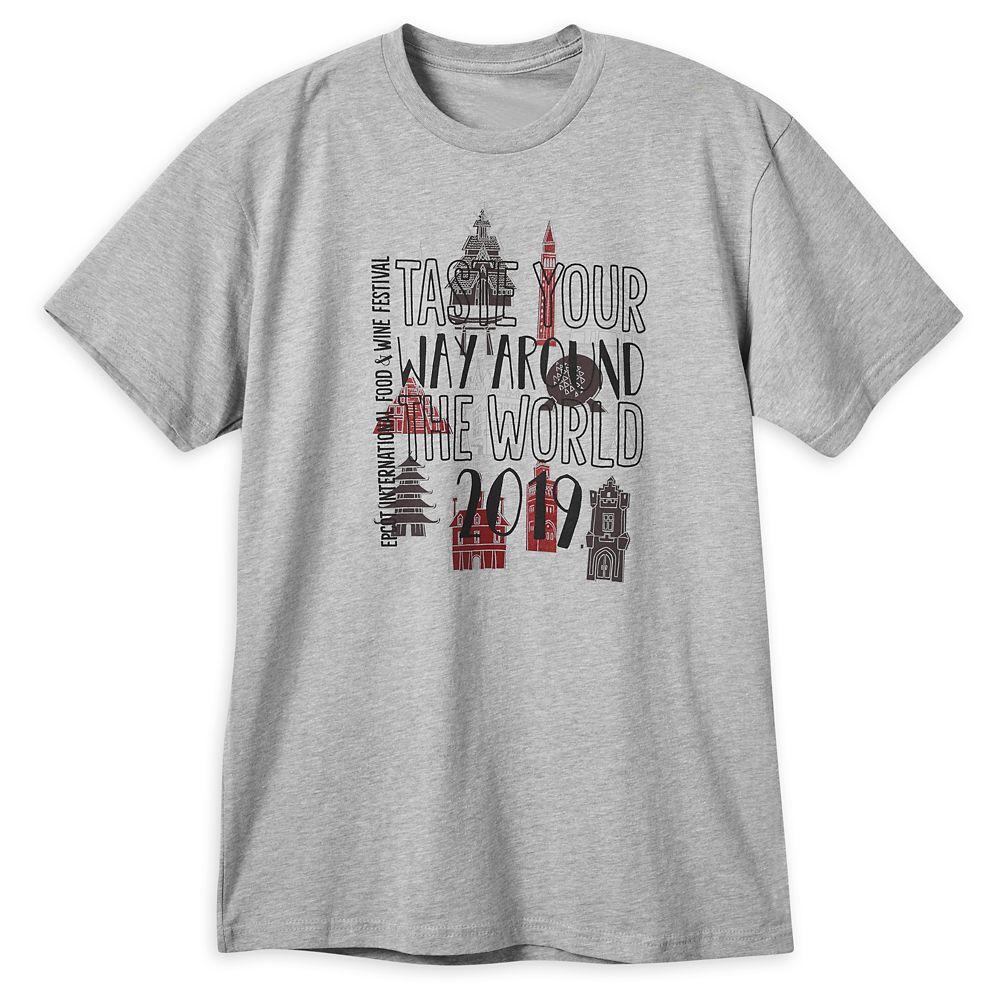 Epcot International Food & Wine Festival 2019 T-Shirt for Men