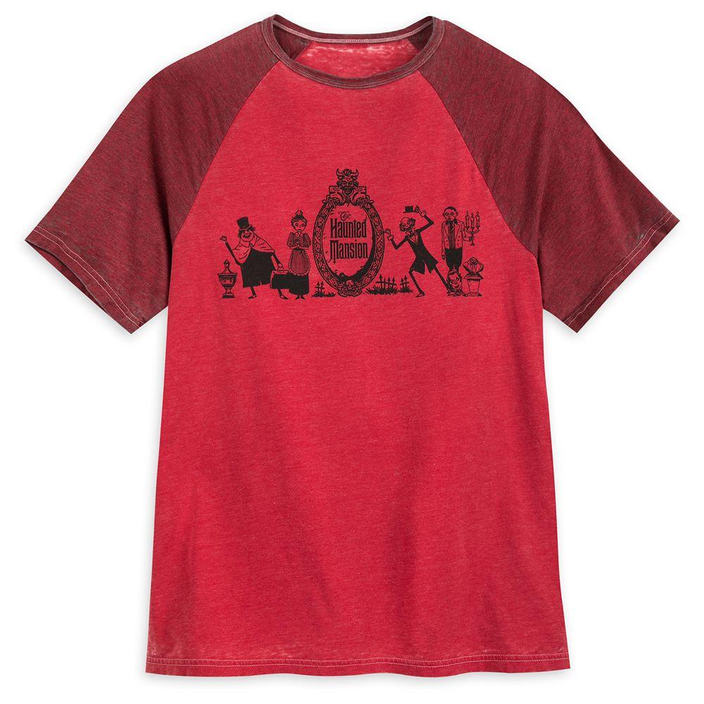 The Haunted Mansion Raglan T-Shirt for Men
