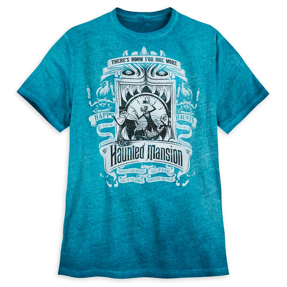 The Haunted Mansion Dip Dye Shirt for Men