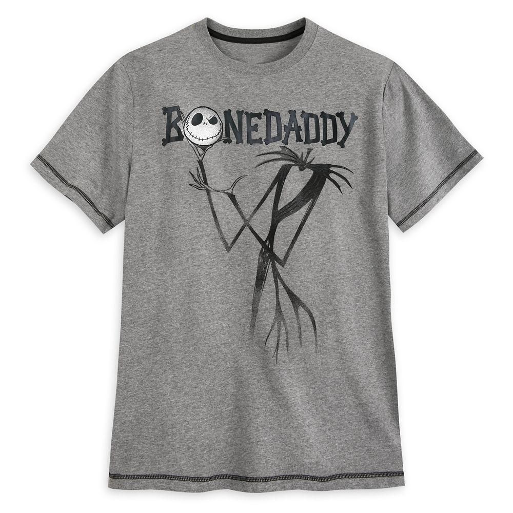 Jack Skellington Heathered T-Shirt for Men