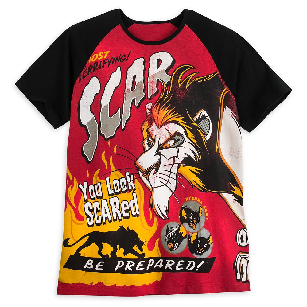 Scar T-Shirt for Men  Disney Villains