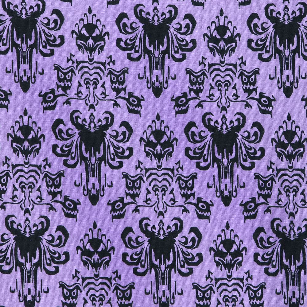 The Haunted Mansion Wallpaper T-Shirt for Women