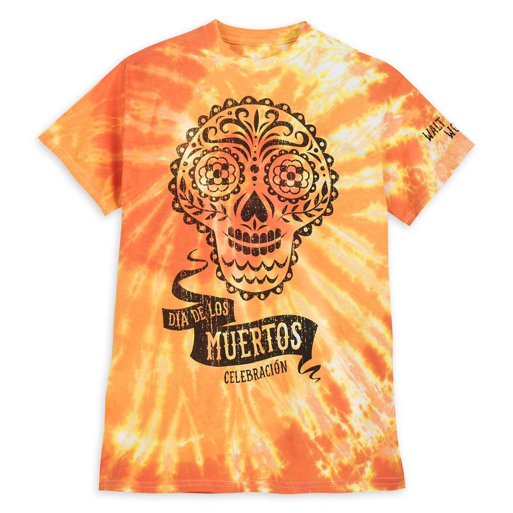 Dia de Los Muertos Celebracin Tie-Dye T-Shirt for Men  Walt Disney World
