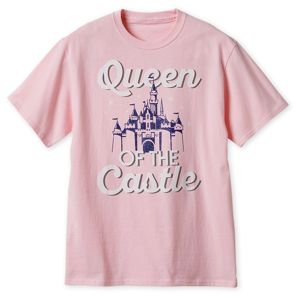 Fantasyland ''Queen of the Castle'' T-Shirt for Adults – Disneyland