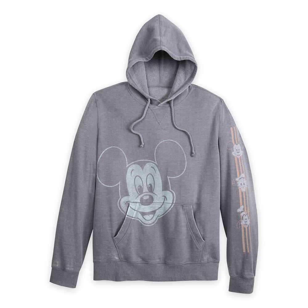 Mickey Mouse and Friends Hooded Pullover Sweatshirt for Men – Walt Disney World