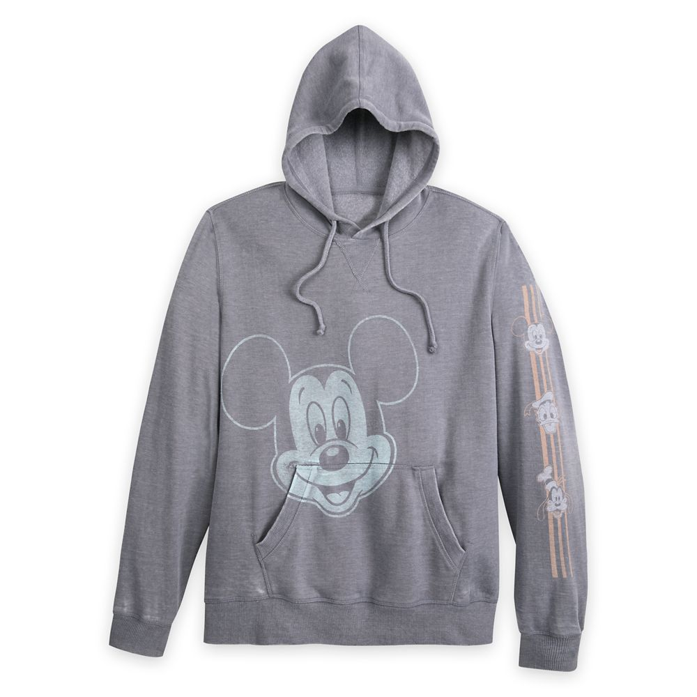 Mickey Mouse and Friends Hooded Pullover Sweatshirt for Men – Disneyland