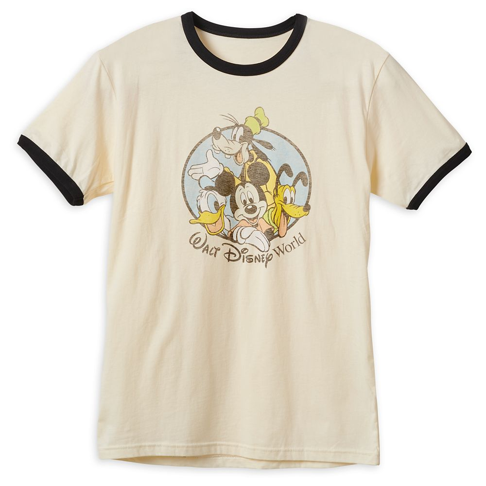 Mickey Mouse and Friends Ringer T-Shirt for Men – Walt Disney World