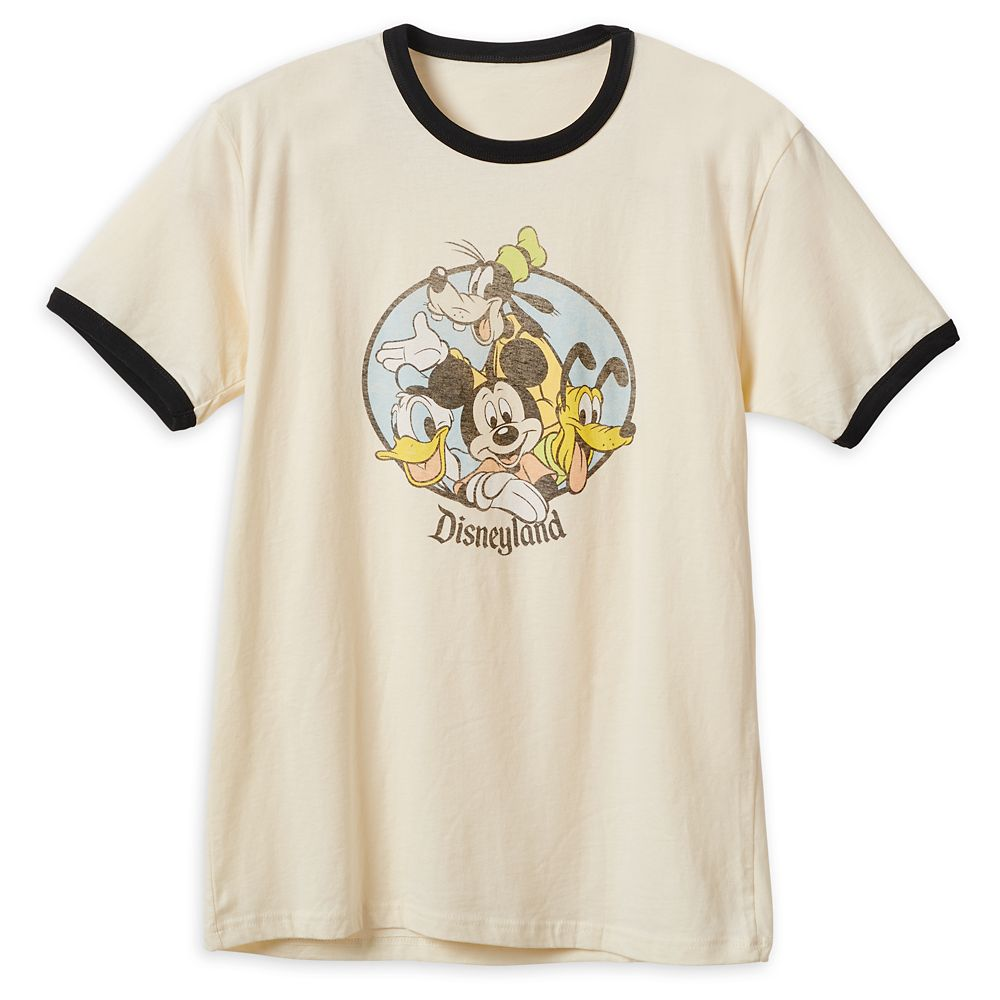 Mickey Mouse and Friends Ringer T-Shirt for Men – Disneyland