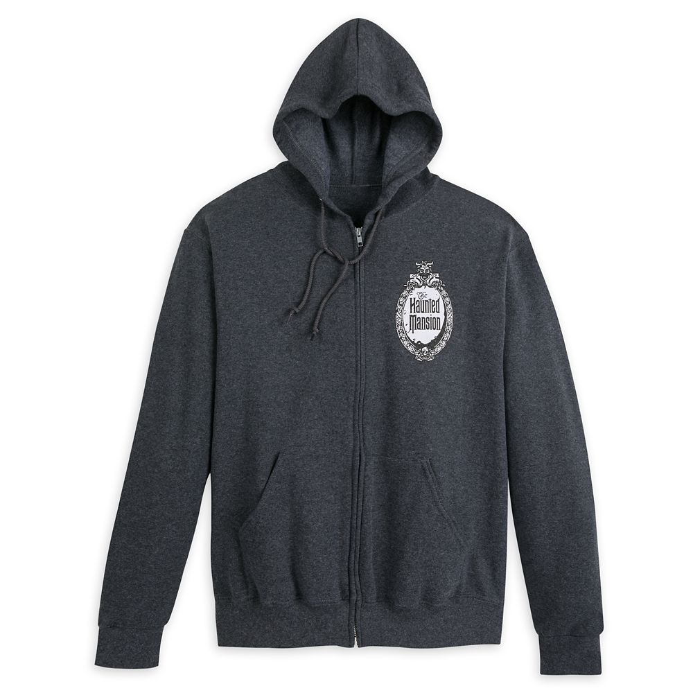 The Haunted Mansion Logo Zip Hoodie for Men