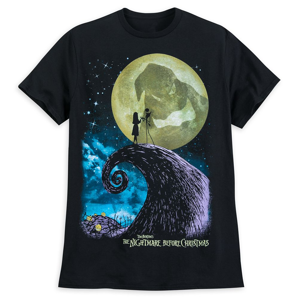Tim Burton's The Nightmare Before Christmas T-Shirt for Men Official shopDisney
