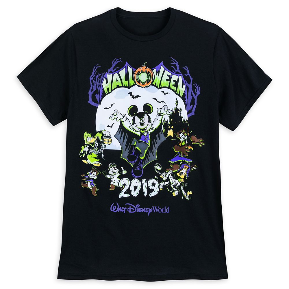 Mickey Mouse and Friends Halloween 2019 T-Shirt for Adults – Walt Disney World