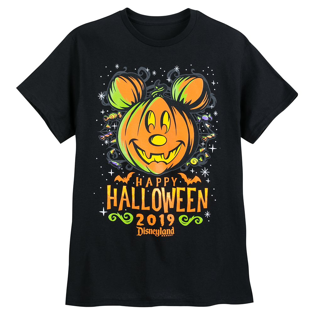 Mickey Mouse Halloween 2019 T-Shirt for Adults  Disneyland