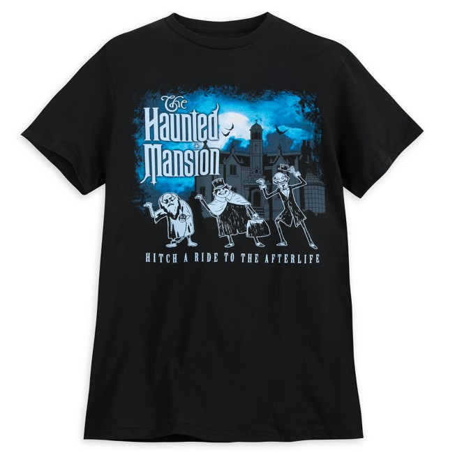 The Haunted Mansion ''Hitch a Ride to the Afterlife'' T-Shirt for Men - Walt Disney World