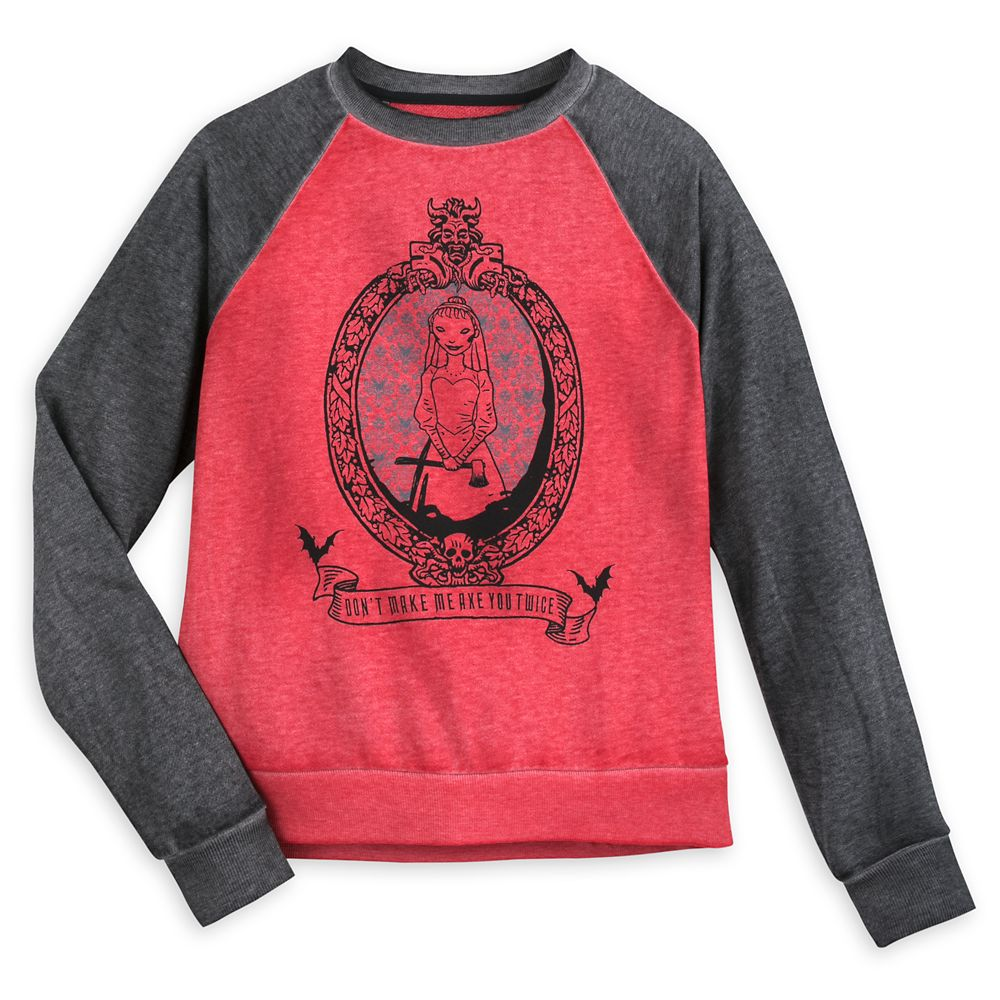 The Haunted Mansion Raglan Sleeve Sweatshirt for Women