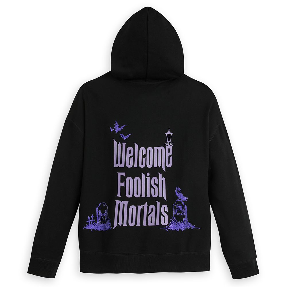 The Haunted Mansion Zip Hoodie for Women