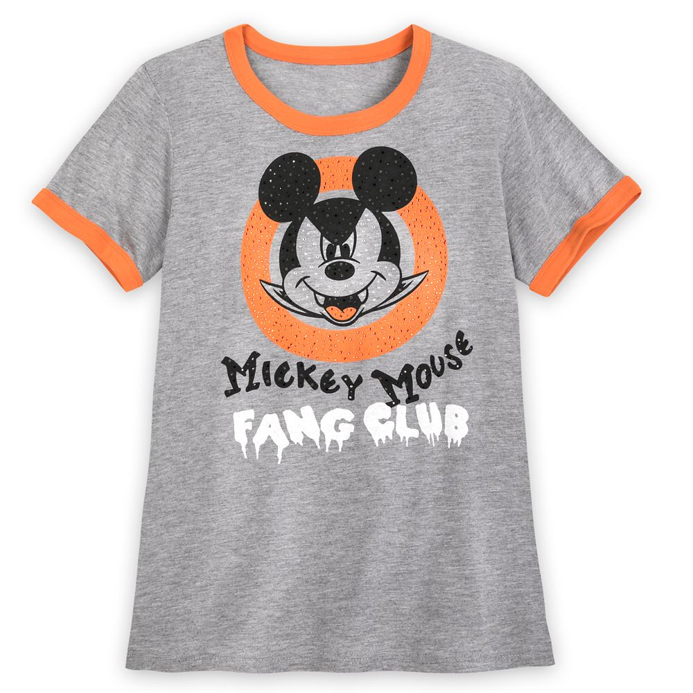The Mickey Mouse Club Halloween Ringer Tee for Women