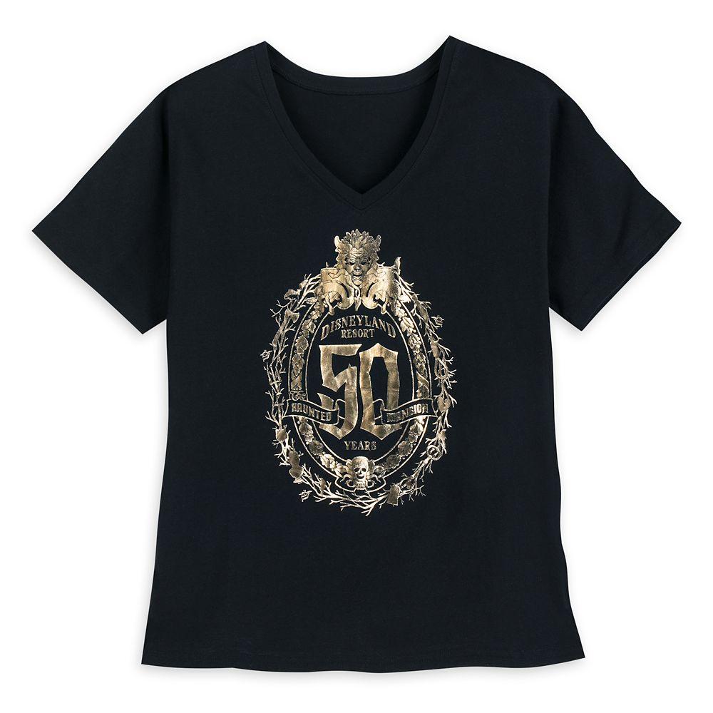 The Haunted Mansion 50th Anniversary T-Shirt for Women – Disneyland