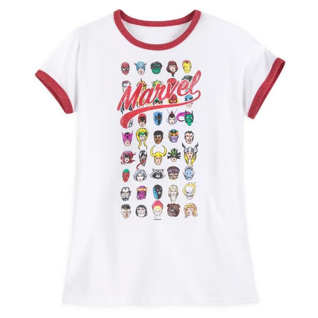 Marvel 80th Anniversary Ringer T-Shirt for Women