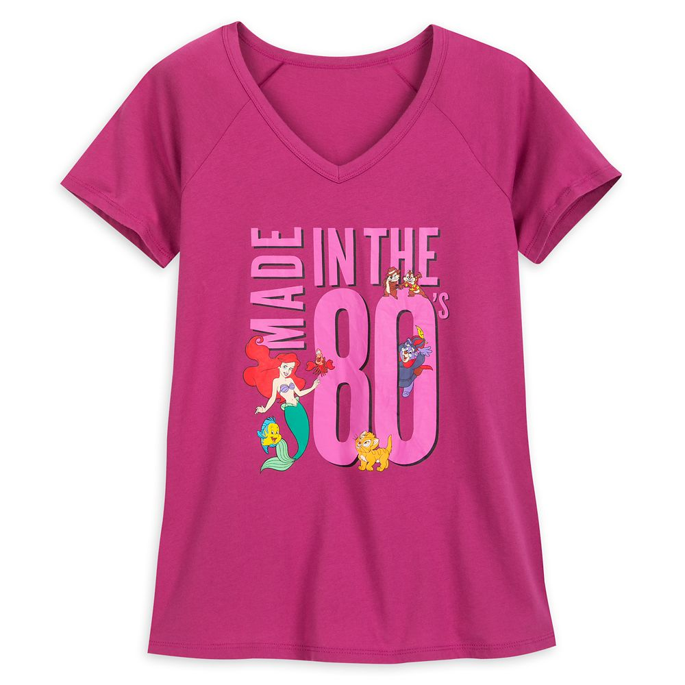 Disney Character ''Made in the 80's'' T-Shirt for Women