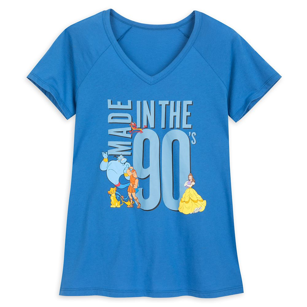 Disney Character ''Made in the 90's'' T-Shirt for Women