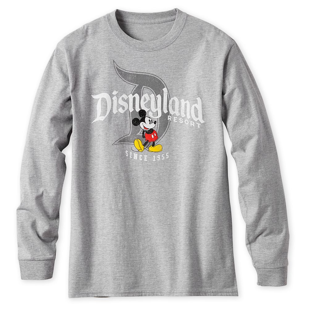 Mickey Mouse Long Sleeve Athletic T-Shirt for Men – Disneyland