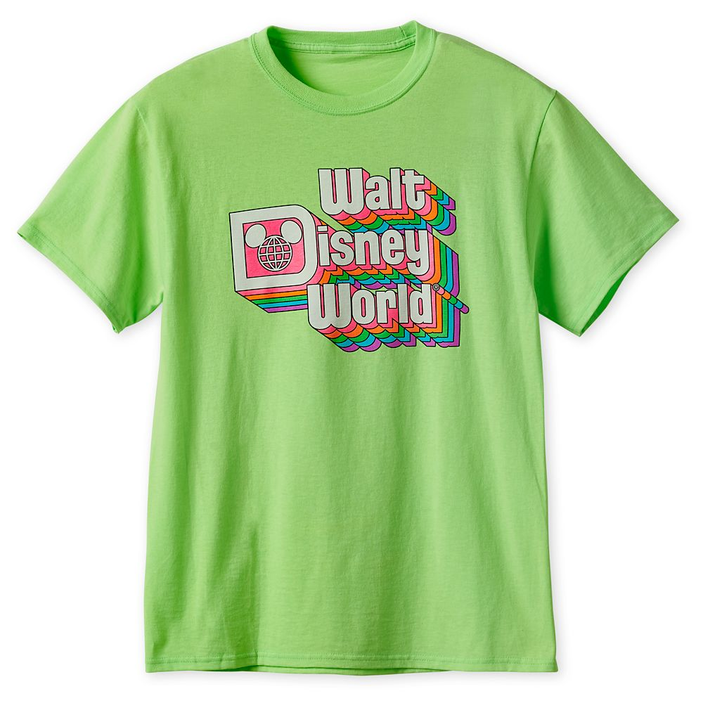 Walt Disney World Neon T-Shirt for Adults