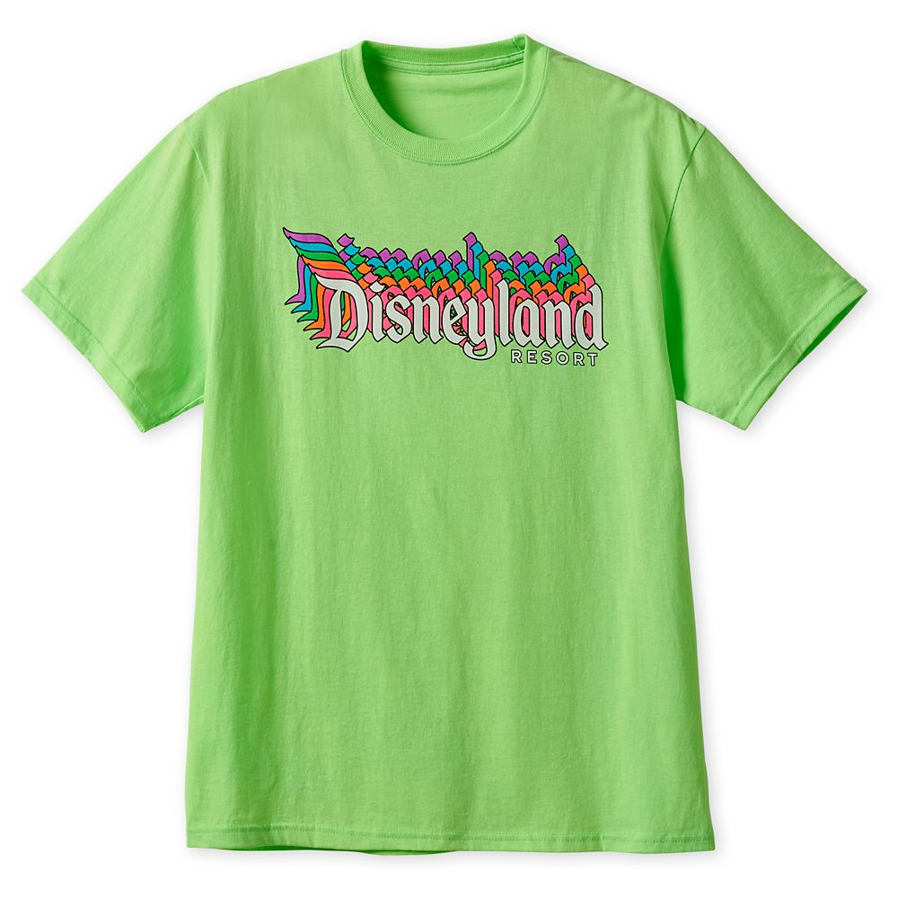 Disneyland Neon T-Shirt for Adults