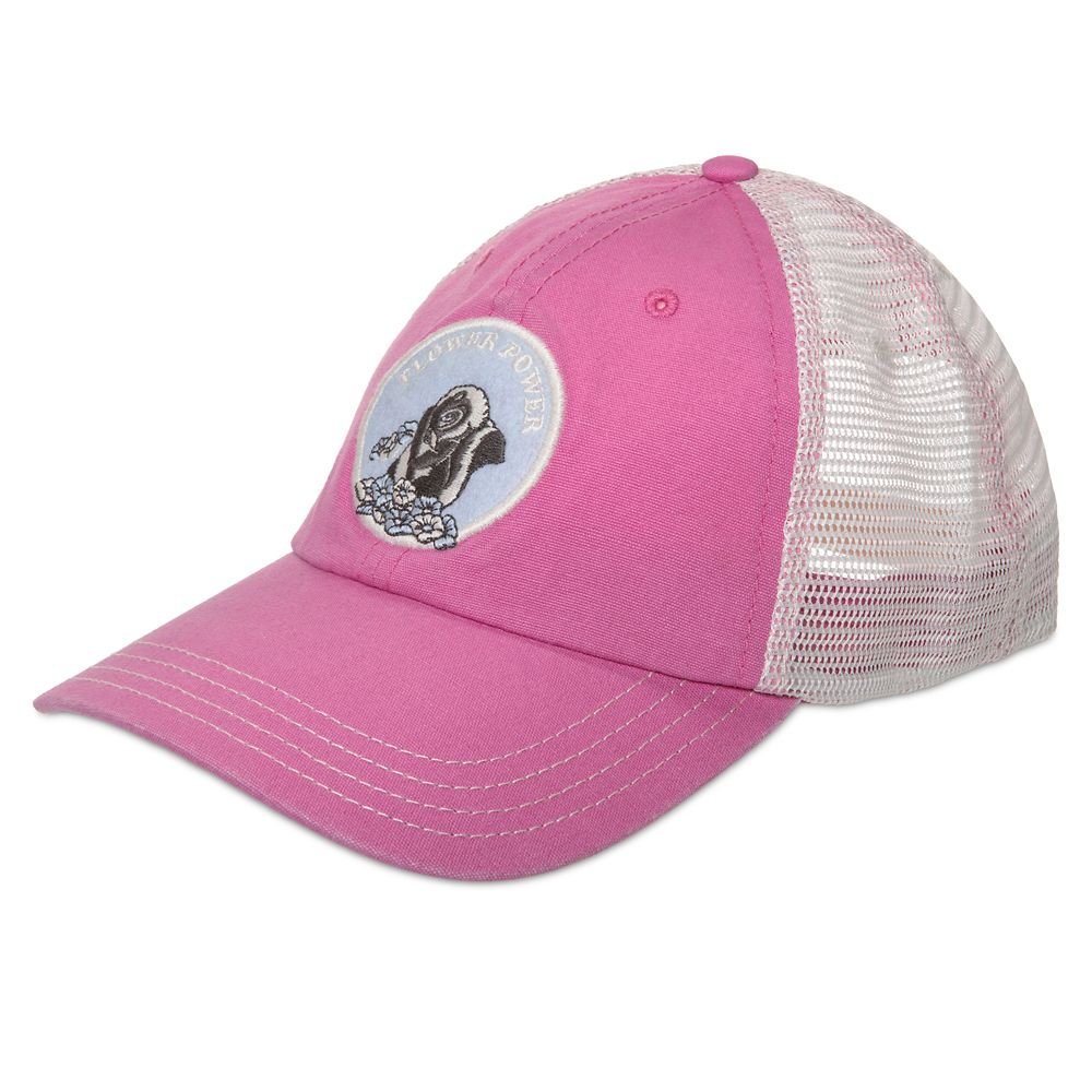Flower Baseball Cap for Adults by Junk Food – Bambi