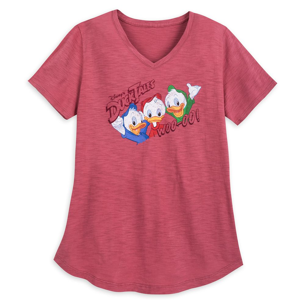 Huey, Dewey, and Louie V-Neck T-Shirt for Women – DuckTales