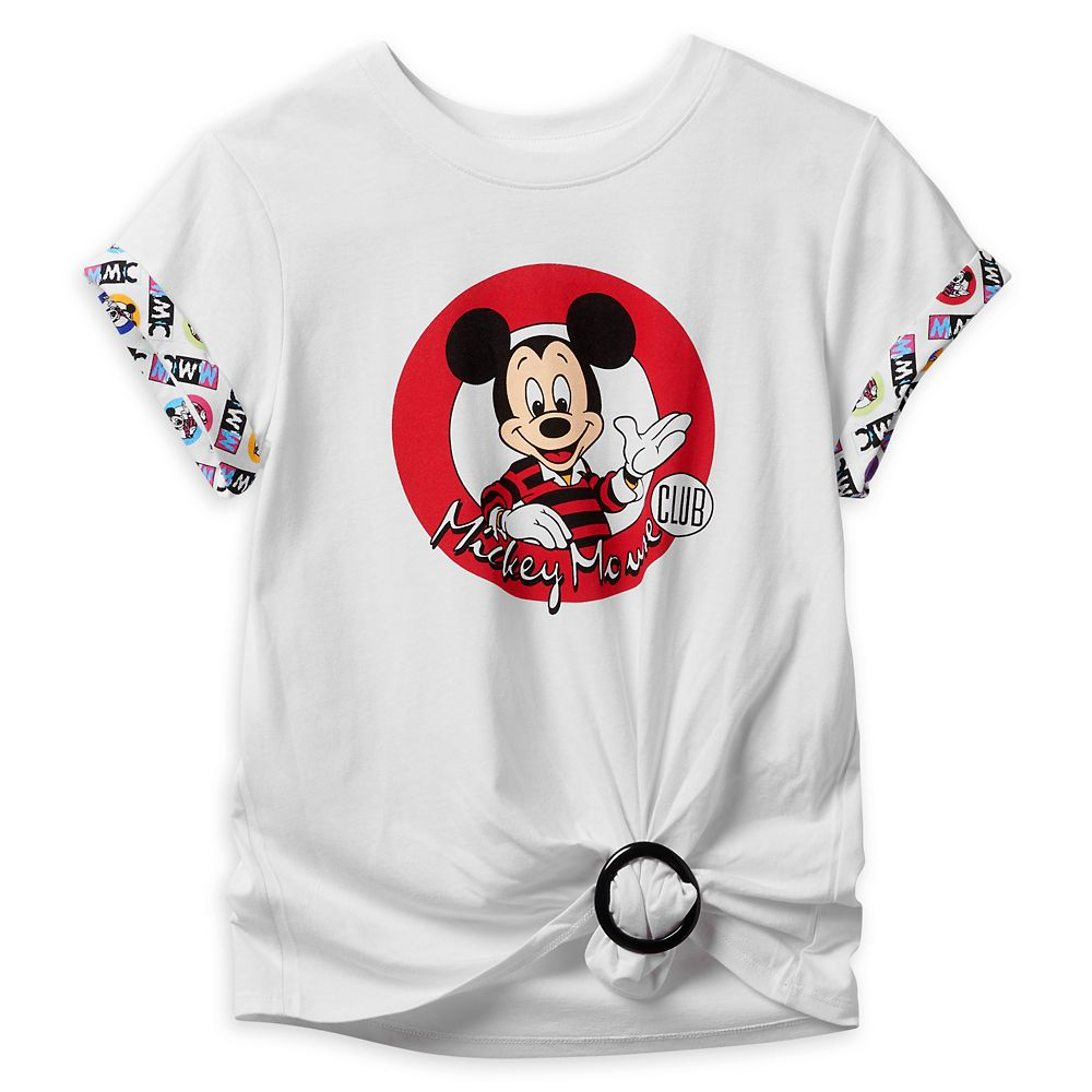 The Mickey Mouse Club Buckle T-Shirt for Women