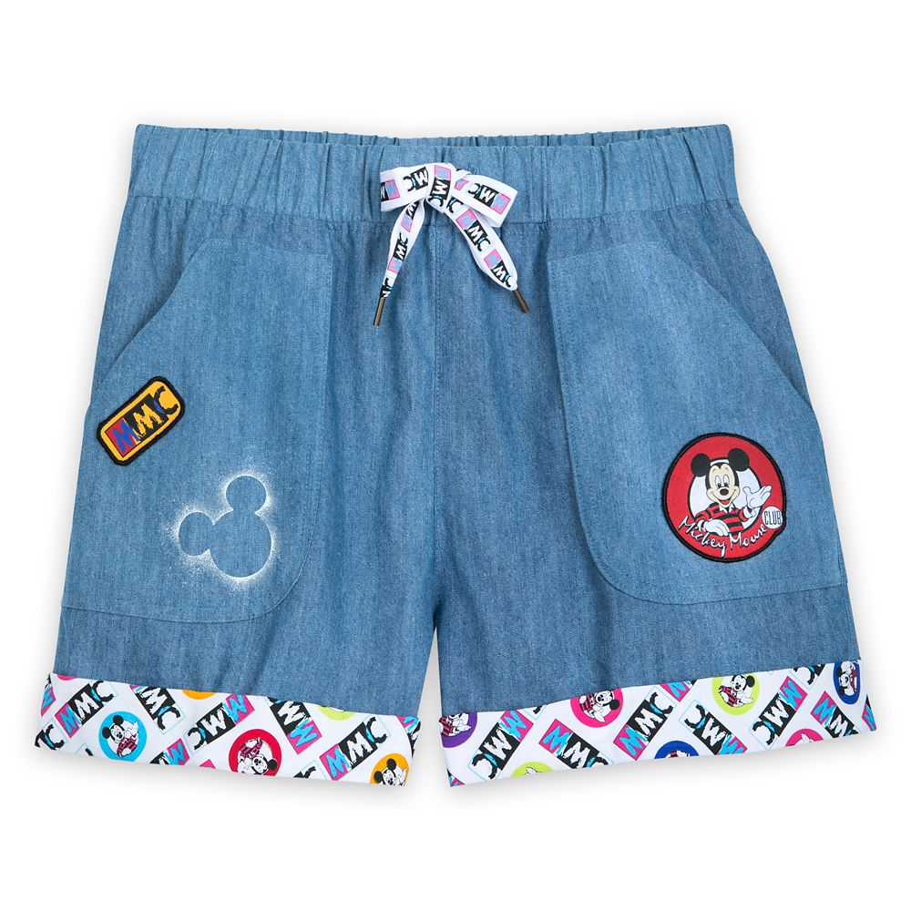 The Mickey Mouse Club Denim Shorts for Women