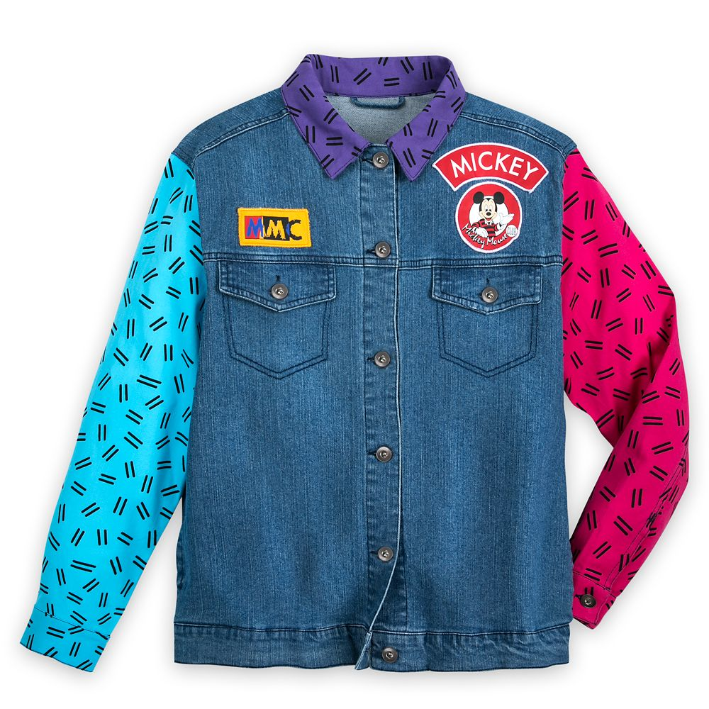 The Mickey Mouse Club Denim Jacket for Women