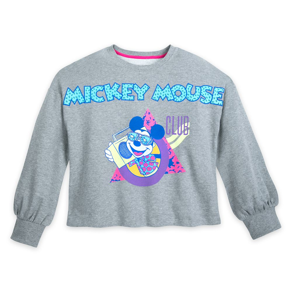 The Mickey Mouse Club Crop Top Pullover for Women