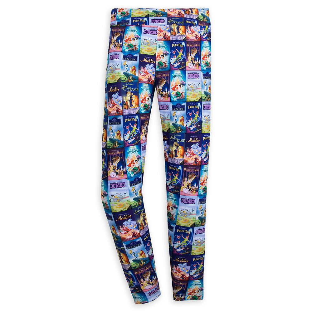 Disney Movies VHS Covers Leggings for Women