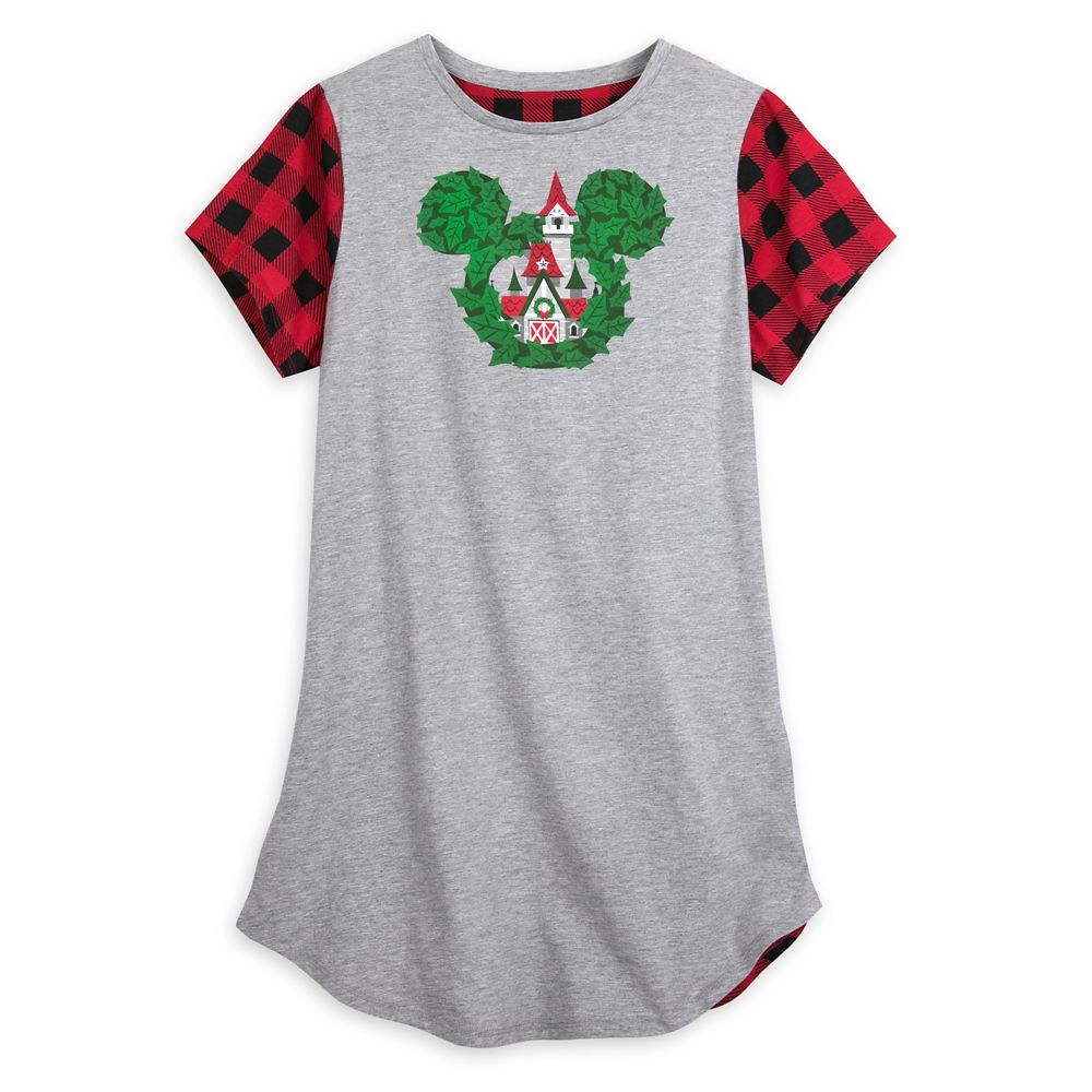 Mickey Mouse Holiday Nightshirt for Women