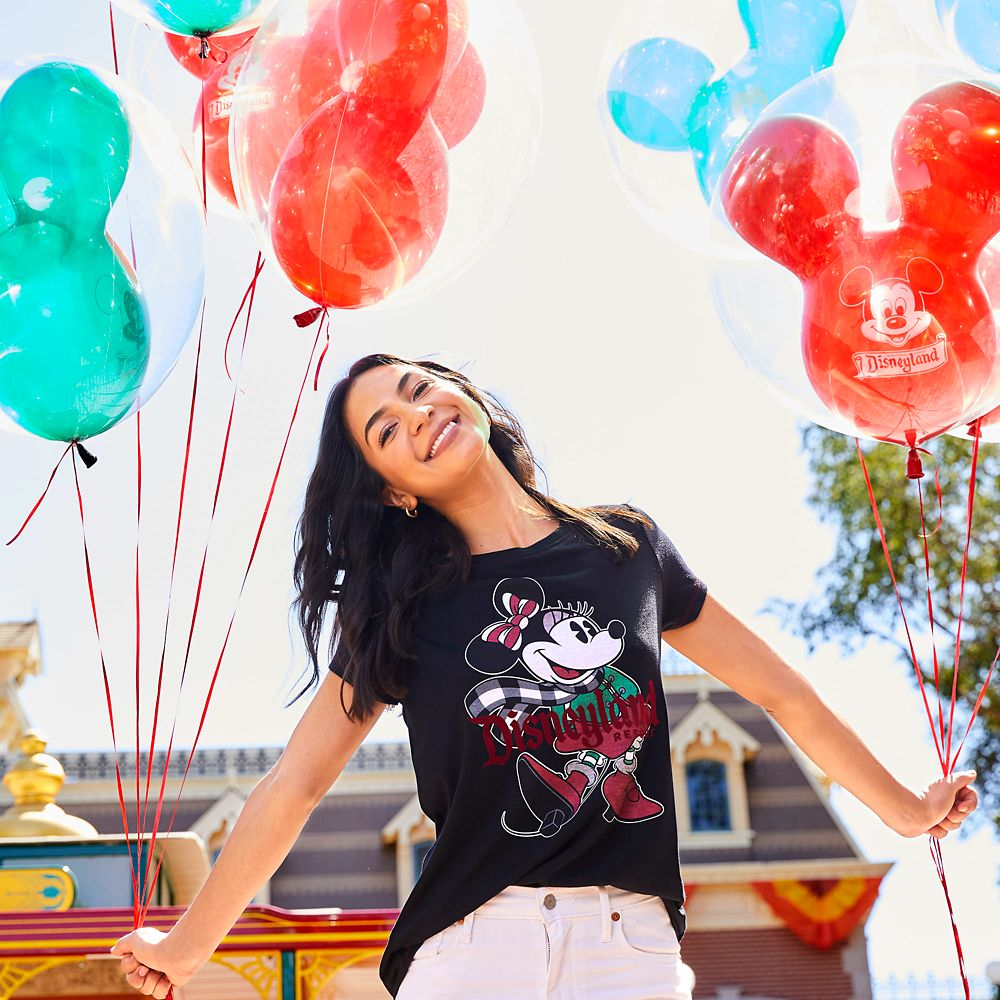 Minnie Mouse Holiday T-Shirt for Women – Disneyland