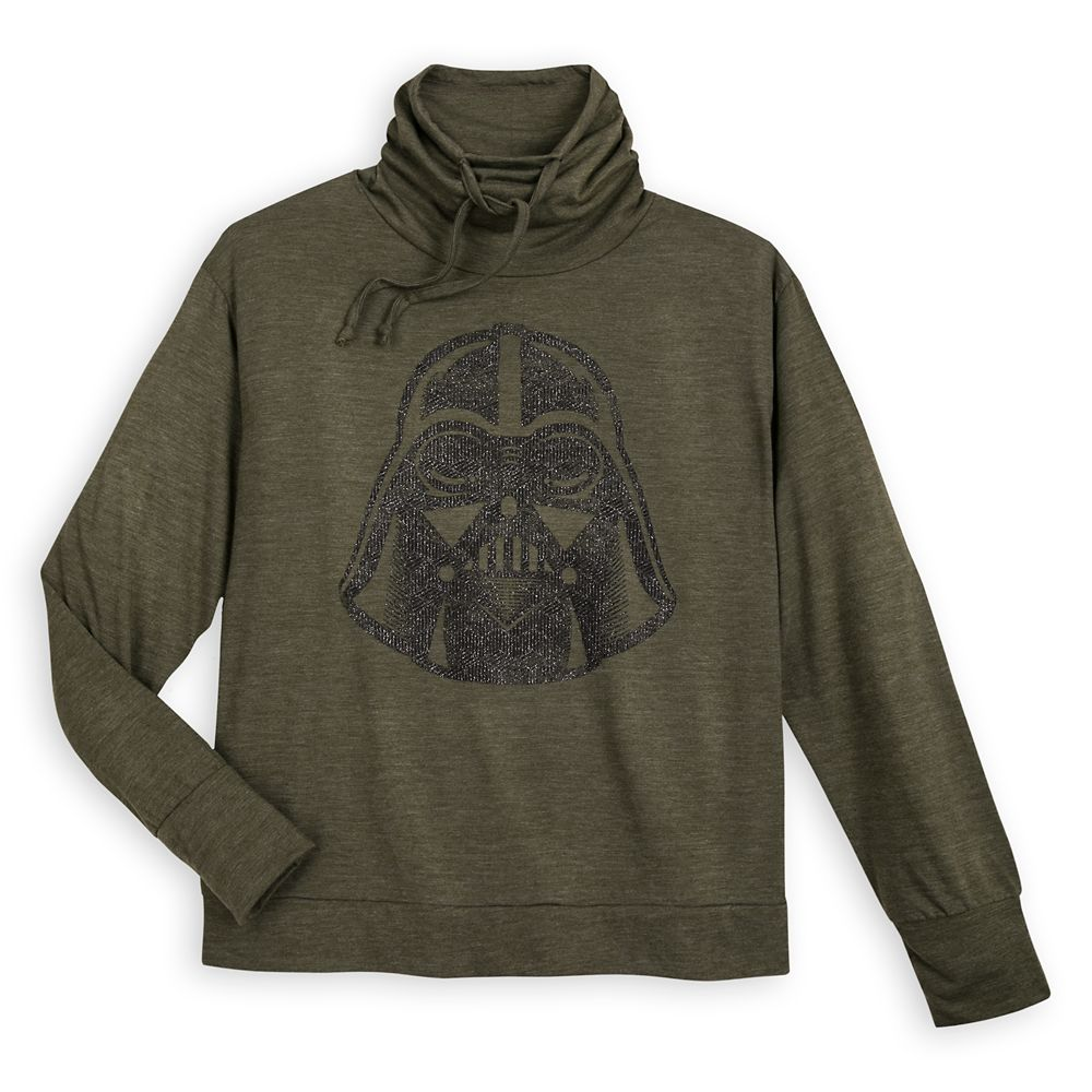 Darth Vader Cowl Neck Pullover for Women – Star Wars