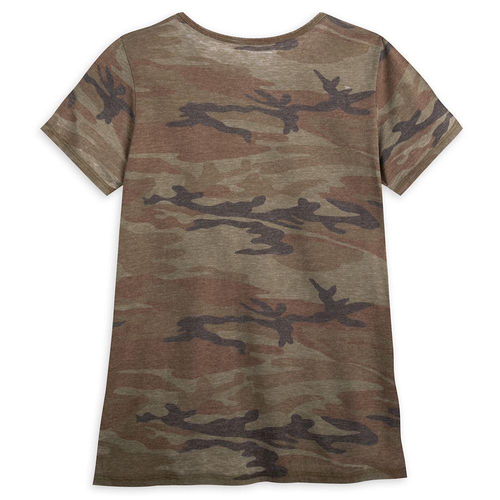 Star Wars Logo Camouflage T-Shirt for Women