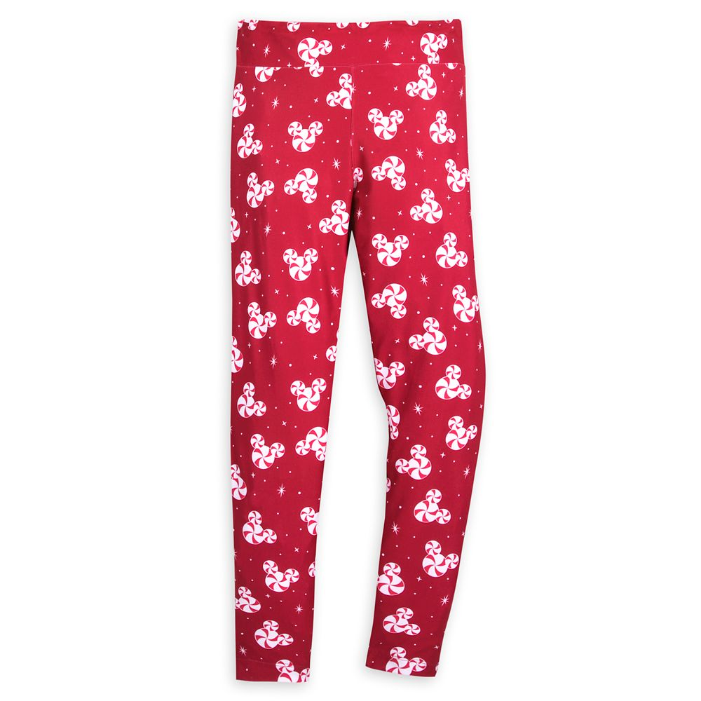 Mickey Mouse Peppermint Leggings for Women