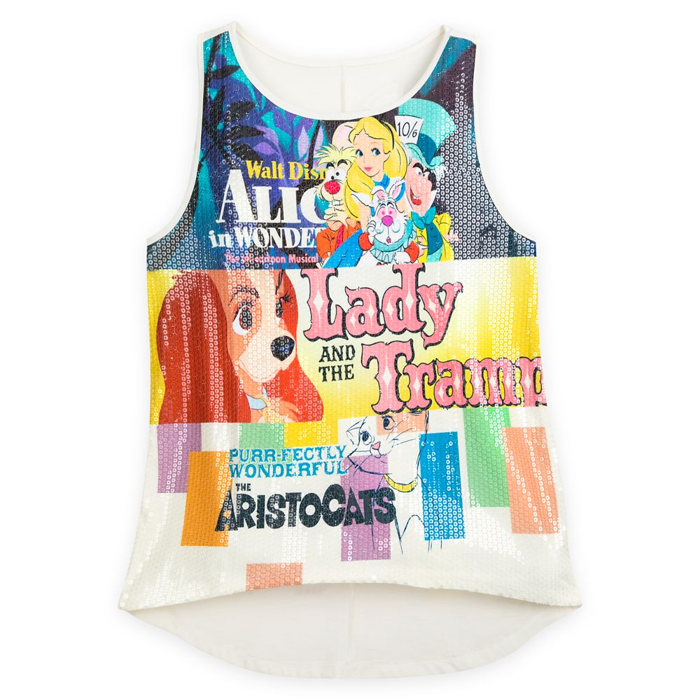 Disney Classics Fashion Tank Top for Women