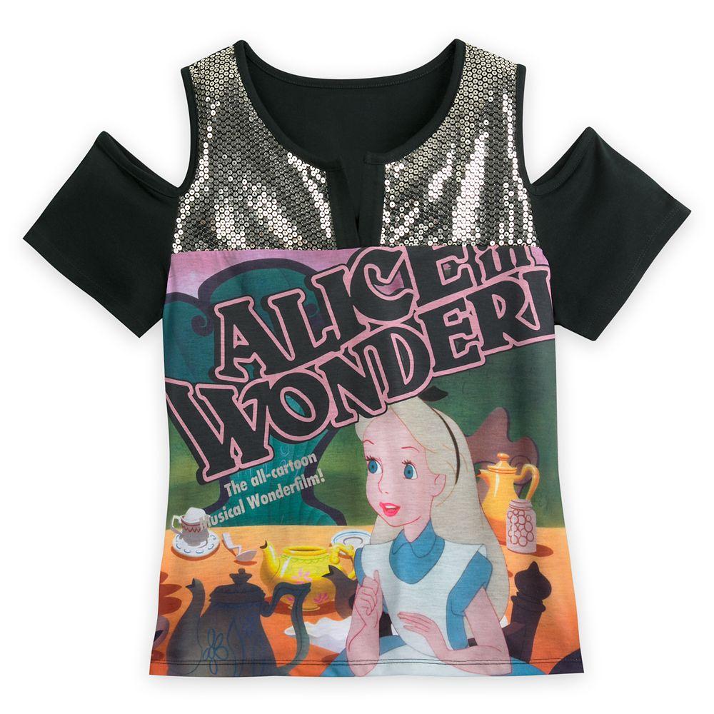 Alice in Wonderland Fashion Top for Women