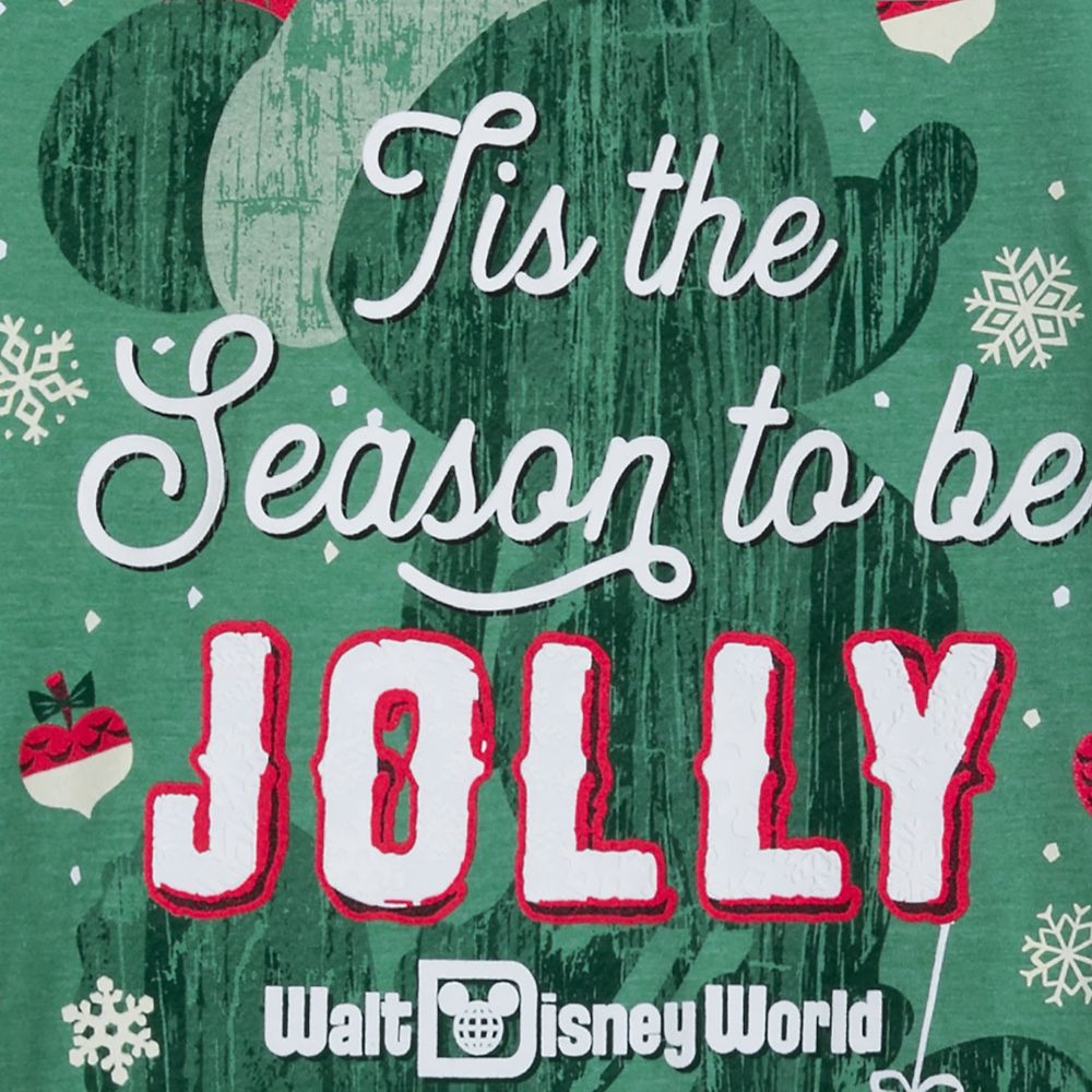 Mickey Mouse Jolly Holiday T-Shirt for Adults – Walt Disney World