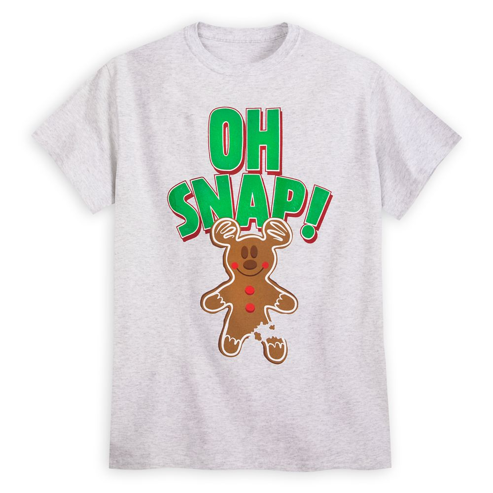 Mickey Mouse Gingerbread Cookie T-Shirt for Men