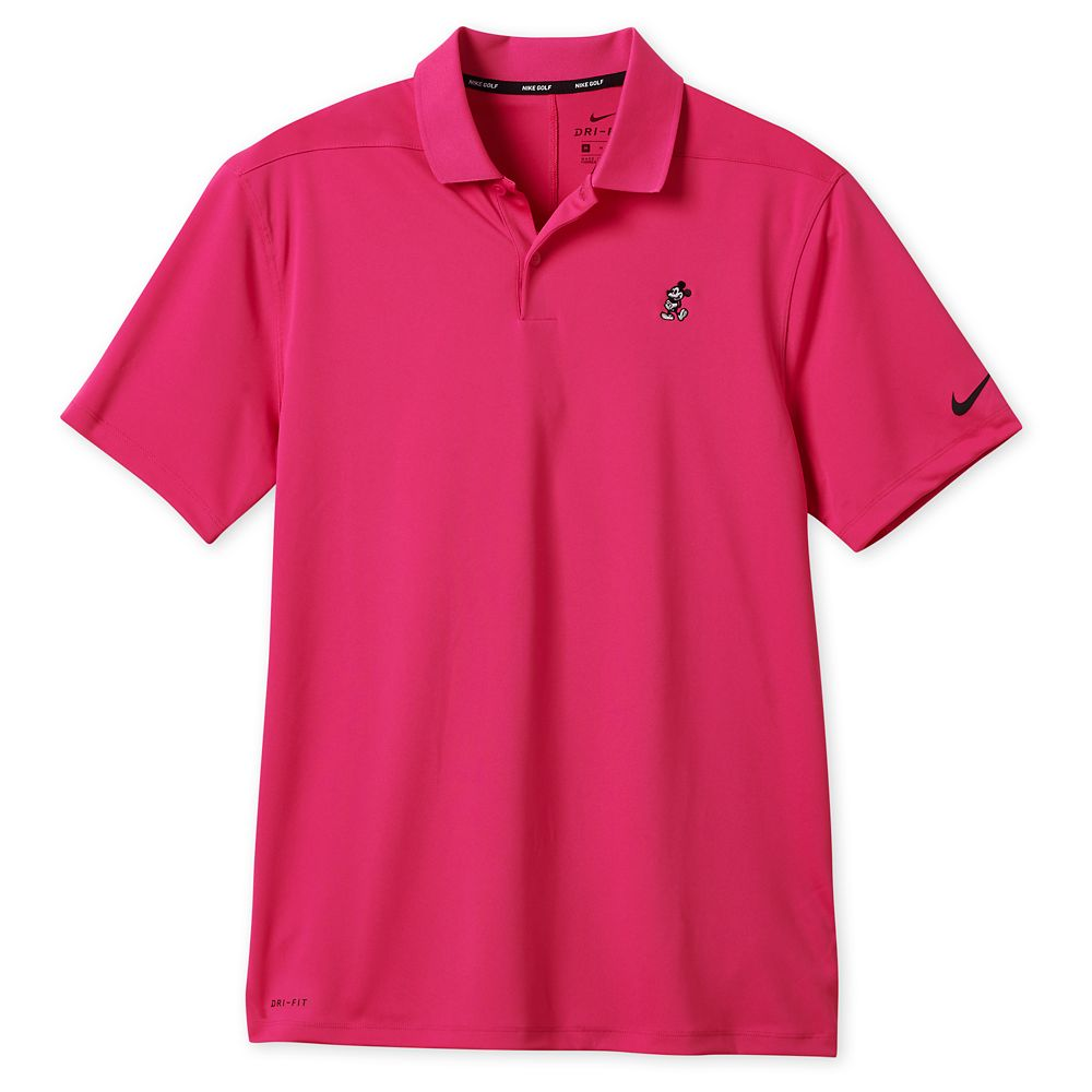 Mickey Mouse Performance Polo Shirt for Men by Nike Golf – Pink