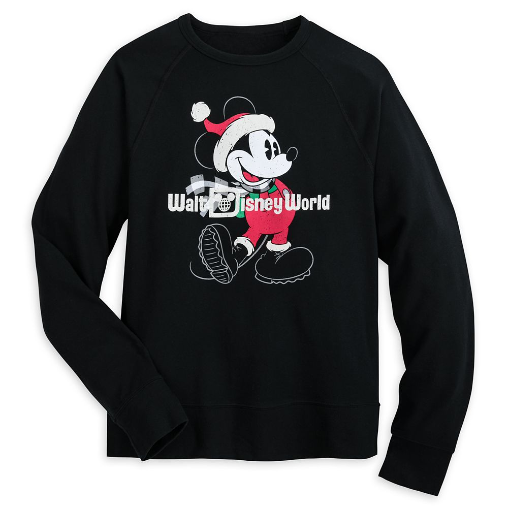 Mickey Mouse Holiday Sweatshirt for Adults – Walt Disney World