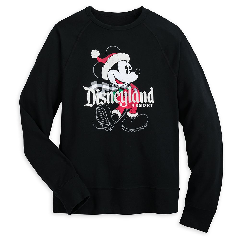 Mickey Mouse Holiday Sweatshirt for Adults – Disneyland