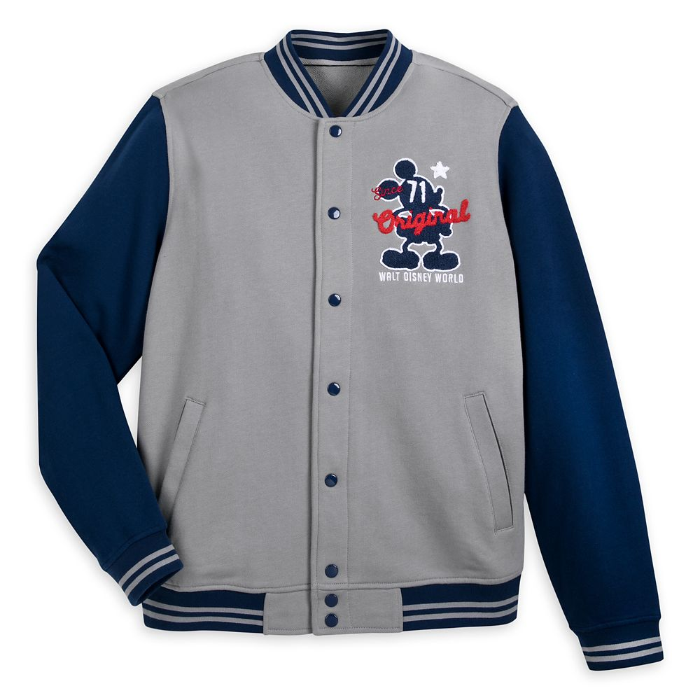 Mickey Mouse Letterman Jacket for Adults – Walt Disney World