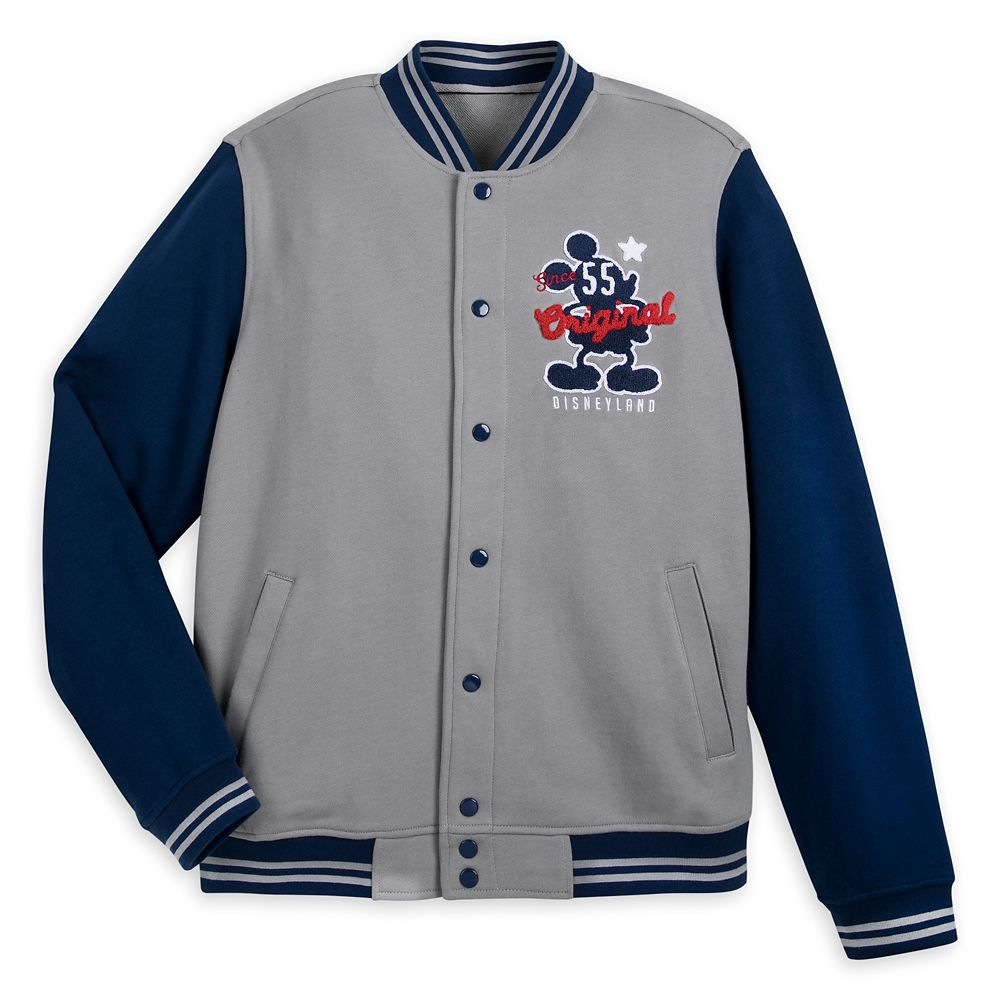 Mickey Mouse Letterman Jacket for Adults – Disneyland