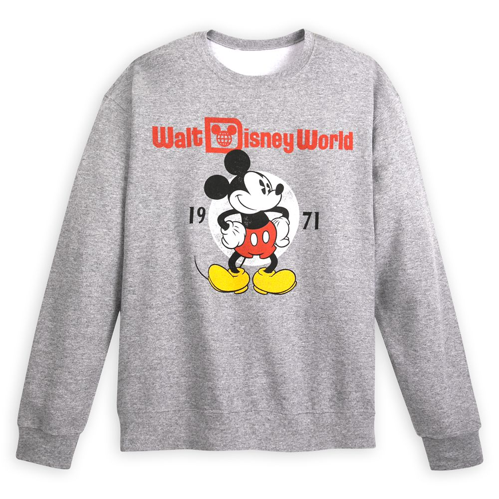Mickey Mouse Sweatshirt for Adults – Walt Disney World